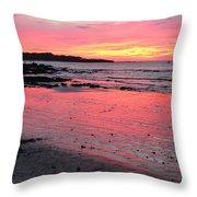 Tamarindo Sunset Throw Pillow