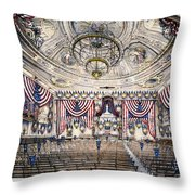 Tammany Hall, Nyc Throw Pillow