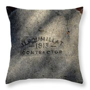 Tampa Bay Hotel 1913 Throw Pillow