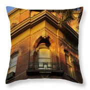 Tampa Bay Hotel Throw Pillow