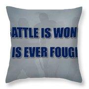 Tampa Bay Lightning Battle Throw Pillow