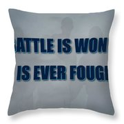 Tampa Bay Rays Battle Throw Pillow