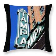 Tampa Tampa Throw Pillow
