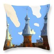 Tampa's Minarets Throw Pillow