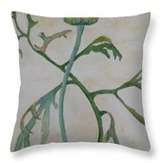 Tanacetum Throw Pillow