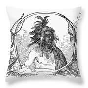 Tanacharison (c1700-1754) Throw Pillow