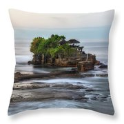 Tanah Lot - Bali Throw Pillow