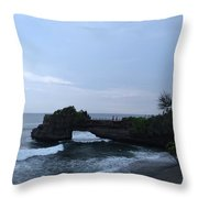 Tanah Lot Throw Pillow
