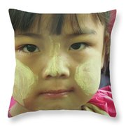Tanaka Cheek Throw Pillow
