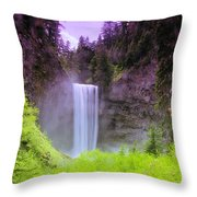 Tananamawas Falls  Throw Pillow