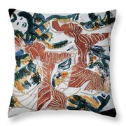 Tandem Dance 1 Throw Pillow