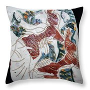 Tandem Dance 8 Throw Pillow