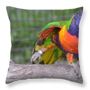 Tanganyika 0103 Throw Pillow