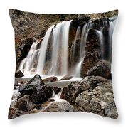Tangle Falls Closeup 5 Throw Pillow