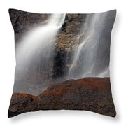 Tangle Falls Closeup 9 Throw Pillow