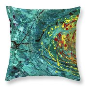 Tangled Bloom Throw Pillow