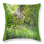 Tangled Embrace Throw Pillow
