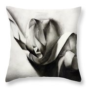 Tangled In Light Throw Pillow
