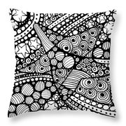 Tangled Stars  Throw Pillow