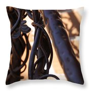 Tangled Vines Throw Pillow