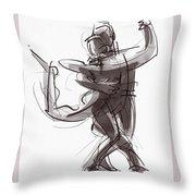 Tango #25 Throw Pillow by Judith Kunzle