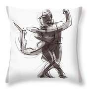 Tango #25 Throw Pillow