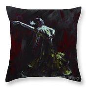 Tango Dancer 03 Throw Pillow