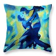 Tango Dancers Throw Pillow
