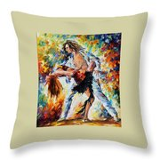 Tango's Love Throw Pillow