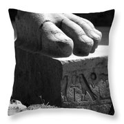 Tanis Foot Throw Pillow