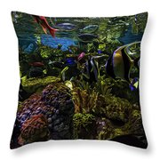Tanked 1 Throw Pillow