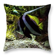 Tanked 3 Throw Pillow