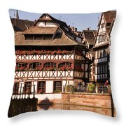 Tanners House Strasbourg Throw Pillow