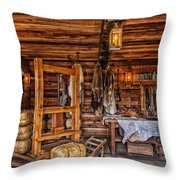 Tanning Room - Fort Ross California Throw Pillow
