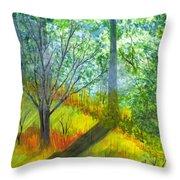 Tannis Woods Throw Pillow