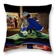 Tanoura Dancer Throw Pillow