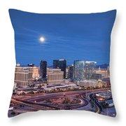 Tansient - Night Throw Pillow