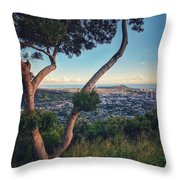 Tantalus Views Throw Pillow