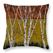 Tante Betulle Throw Pillow