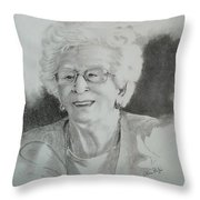 Tante Irene Throw Pillow