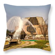 Tanzi Ling Park Throw Pillow