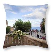 Taormina Square Throw Pillow