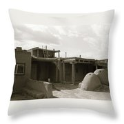 Taos 1 Throw Pillow