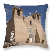 Taos Landmark Throw Pillow