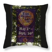 Taos Love Throw Pillow