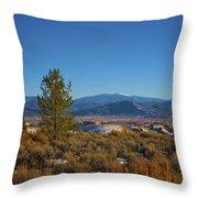 Taos Valley Throw Pillow