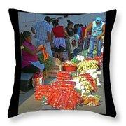 Tapachula 8 Throw Pillow