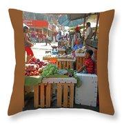 Tapachula 9 Throw Pillow