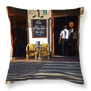 Tapas Bar Throw Pillow