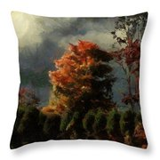Tapestry Of Clouds Throw Pillow